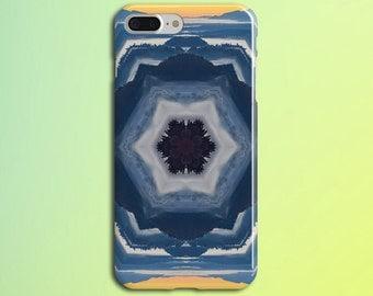 Kaleidoscope Mountain Sunset Phone Case, iPhone 7, iPhone 7 Plus, Rubber iPhone Case, Galaxy s8 Samsung Galaxy Edge Case Nature CASE ESCAPE