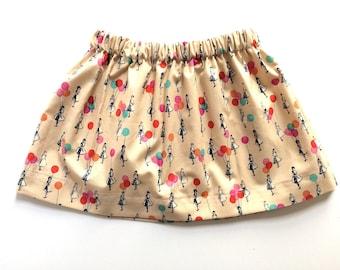 VINTAGE BALLOONS // birthday skirt // baby and toddler skirt