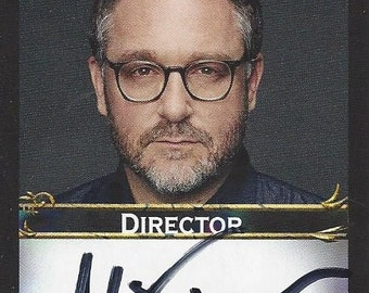 Colin Trevorrow: Star Wars AUTOGRAPHED Custom Trading Card