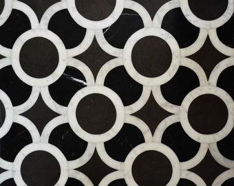 Mosaic Designs - Black Iznik