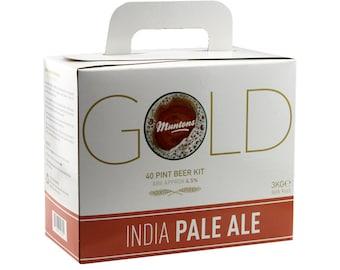 muntons gold india pale ale beer  kit homebrew