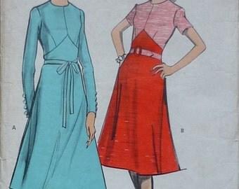 Vintage Sewing Pattern. Woman MP19. dress pattern. Size 10