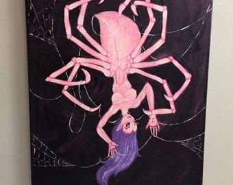 Spider Woman spins her Web