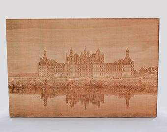 Engrave your favorite photo on wood by laser engraving