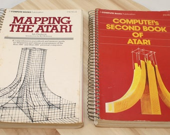 Mapping The Atari by Ian Chadwick 1983 & Compute!'s Second Book of Atari