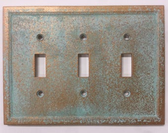 Triple Light Switch Cover