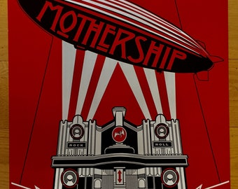 Led Zeppelin Mothership poster 24 x 36