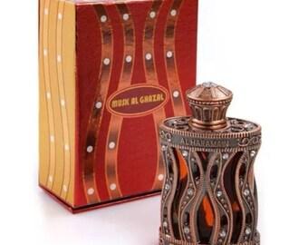 MUSK Al GHAZAL by Al Haramain Attar, Itr, Perfume, Fragrance Oil 30 ML
