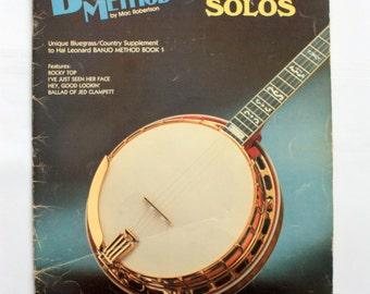 Banjo Method MacRobertson, Banjo Solos,  Banjo Music, Banjo Book