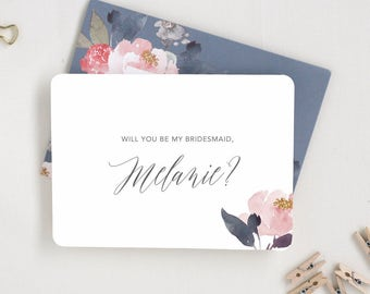 Ask Bridesmaid Card. Proposal Card. Bridesmaid Ask Card. MOH Card. Bridesmaid Cards. Bridesmaid Proposal Be My Maid of Honor. Will You Be My