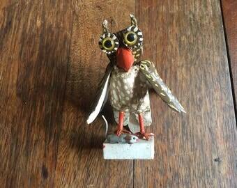 Vintage Owl Handmade