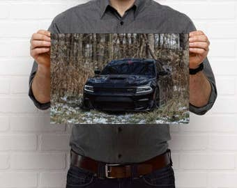 Dodge Charger Hellcat Poster