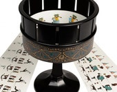 Zoetrope Animation seen in film The Woman In Black  Traditional Classic Toy  Brown Or Black Colour Choice