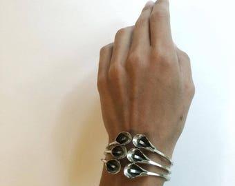 Sterling Silver, Calla Lilly, Bracelet