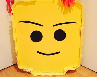 Mr. Lego head Pinata