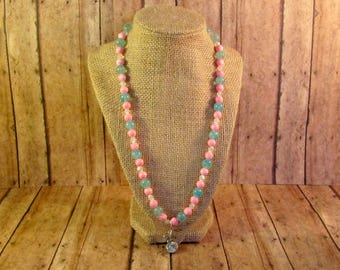 Bubblegum Butterfly Necklace