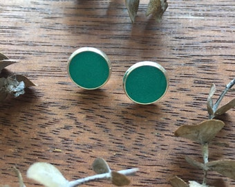 Turquoise Clay Studs