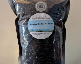 Guatemalan - Whole Bean, Fresh Roasted, Organic, Fair Trade Arabica Coffee