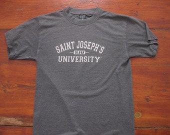 Saint Joseph's University t-shirt shirt SJU Adult Medium Tall Large