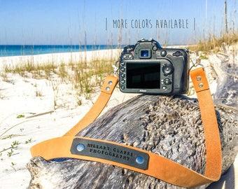 Custom camera strap, full grain leather, camera strap, canon camera strap, Nikon camera strap, Sony camera strap, photography camera strap