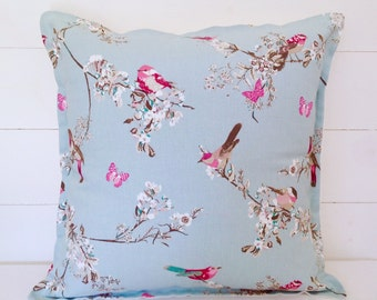 "Beautiful Birds Cushion Cover 16"" 18"" 20"""