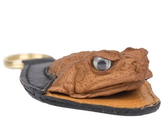 Cane Toad Keychain Fob