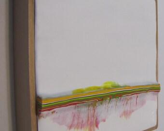 Encaustic Painting Stratum 164