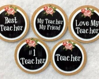 Set Of 50/100/150/200 Teacher Appreciation  1 Inch Circle Confetti