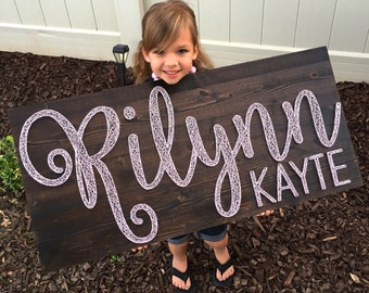 String Art Name Board - EXTRA LARGE Board