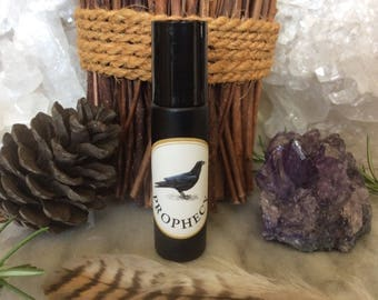 Prophecy Oil Blend ~ Shaman, Wiccan, Prophecy, Ritual, Cerridwen, Celtic, Hedge Witch Magick ~ Organic ~ Herbal Healing