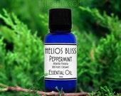 Peppermint Essential Oil - Pure Organic Peppermint Essential Oil - Mentha Piperita Oil - Therapeutic Grade Aromatherapy