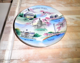 Vintage Empress Washington,D.C. made in Japan 6 inch plate
