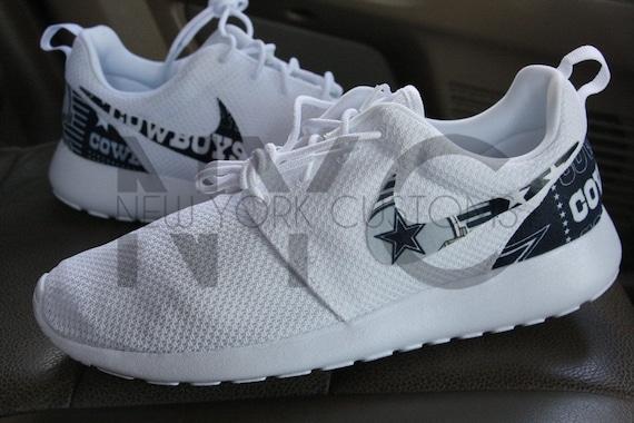 6edfff520b0 Dallas Cowboys Version 2 Nike Roshe One Run Custom Men Women   hot sale