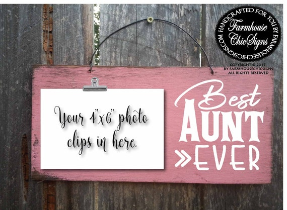 aunt, aunt gift, gift for aunt, aunt sign, best aunt ever, christmas gift for aunt, birthday gift for aunt, best aunt, favorite aunt, 272