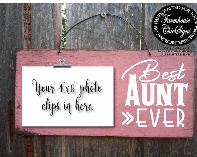 aunt, aunt gift, gift for aunt, aunt sign, best aunt ever, christmas gift for aunt, birthday gift for aunt, best aunt, favorite aunt, 272