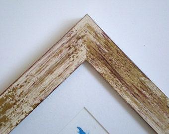wood frame 10x10 frame photo frame picture frame distressed frame 25x25cm rustic frames framerusticframeshop - Distressed Wood Picture Frames