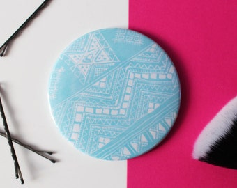 Tribal Pocket Mirror