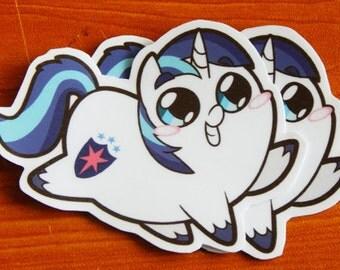 Pony Chubs! Shining Armor Sticker
