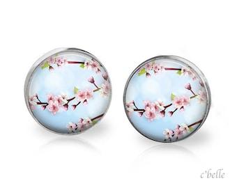 Earrings cherry blossoms 67