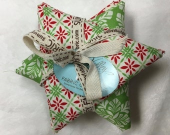Solstice by Kate Spain for Moda Christmas Fabric Six Specially Selected Fat Quarters OOP Hard to Find