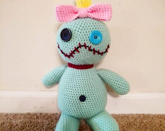 Custom Crocheted Scrump Doll