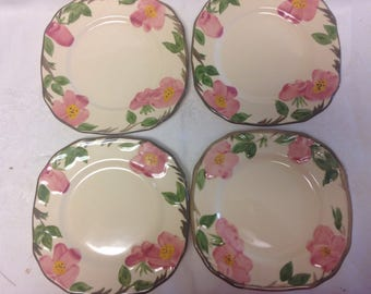 Franciscan Desert Rose Desert/Salad plates - Set of 4