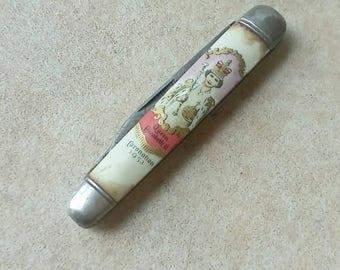 1953 Queen Elizabeth Coronation Penknife