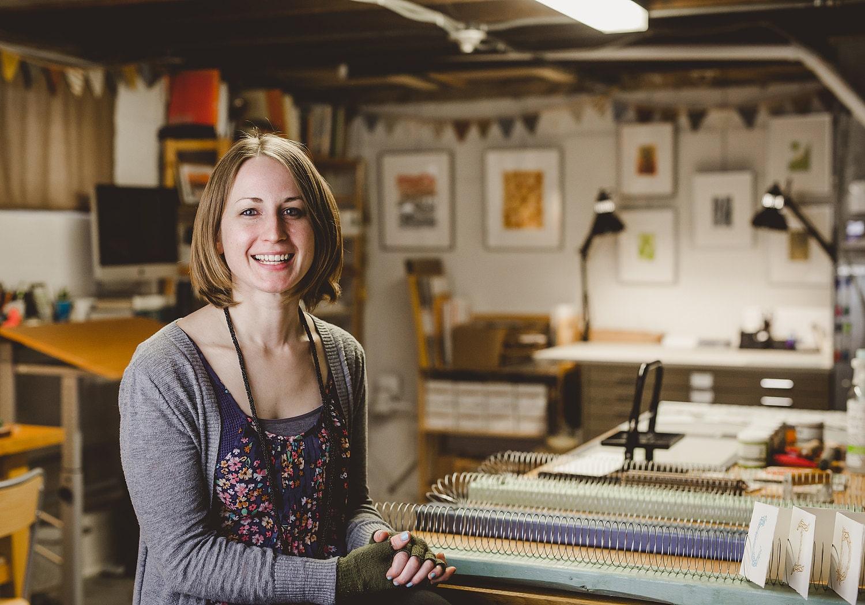 DIY Slinky drying racks for printmaking