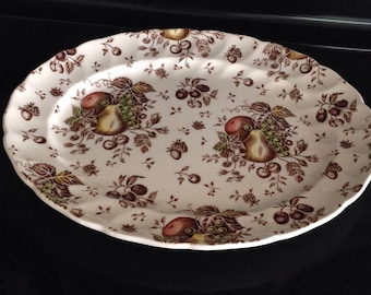 Autumn Delights 11 1/2 Inch Platter By Johnson Bros