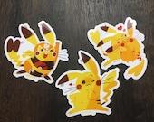 Pokemon Pikachu Pikachu Libre Stickers
