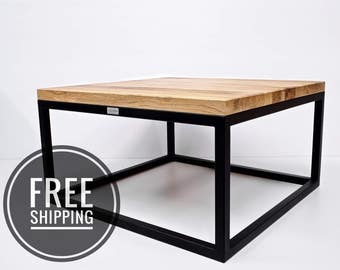 Industrial Coffee Table, Loft Coffee Table
