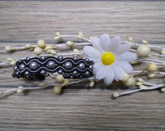 bracelet  / soutache technique / handmade (nr369)