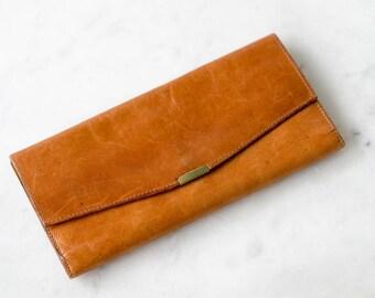 Jimenez vintage leather wallet