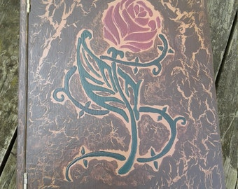 "Fairy Tale ""Book"" Box,  Beauty and the Beast"